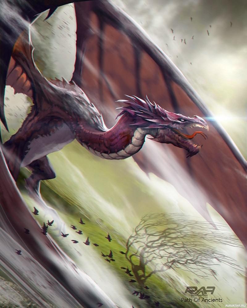 картинки как живые на аву драконы проводит время