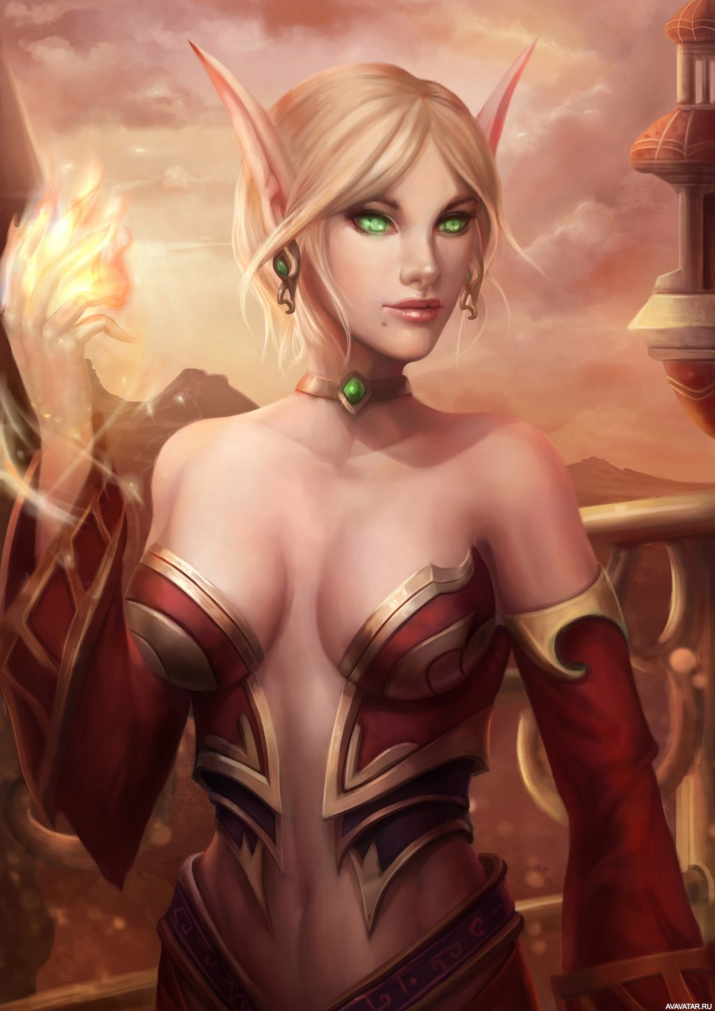 Blood elves art sexy pics