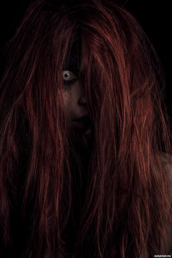 Картинки страшные волосы