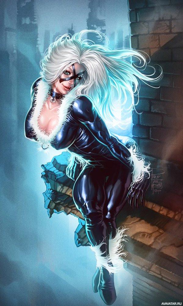 black cat marvel - 600×999