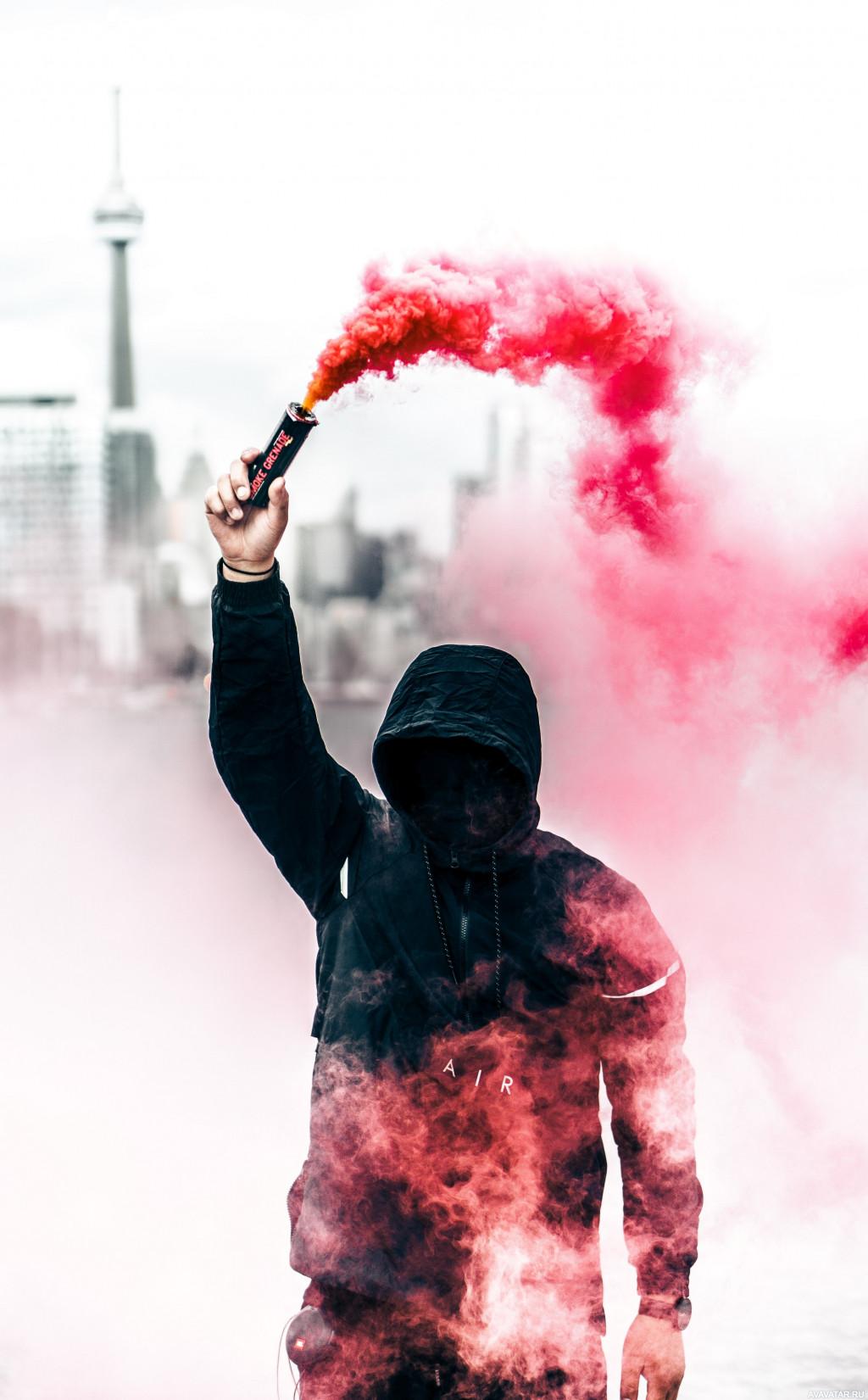 Крутые картинки в дыму, своими руками