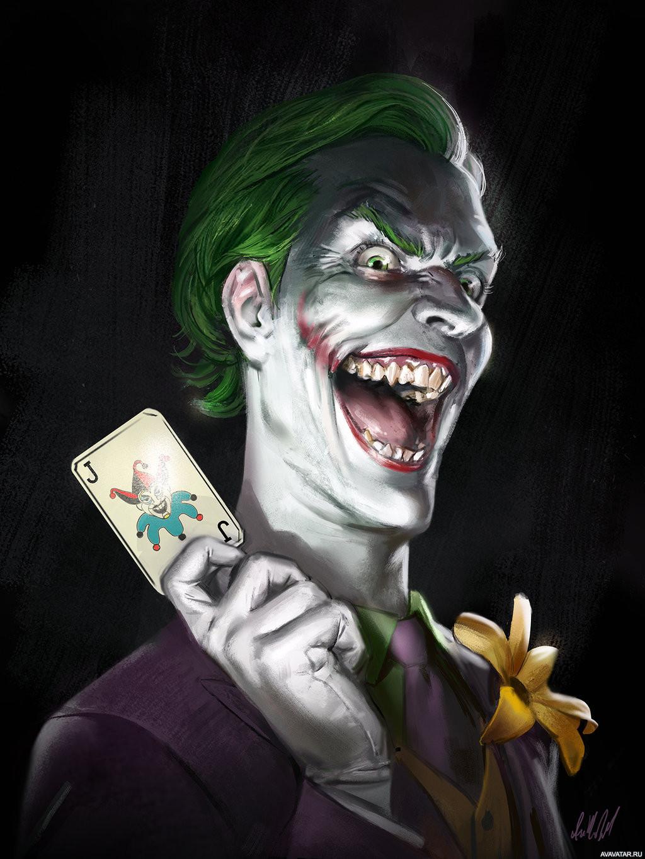 Джокер фото на аву вк