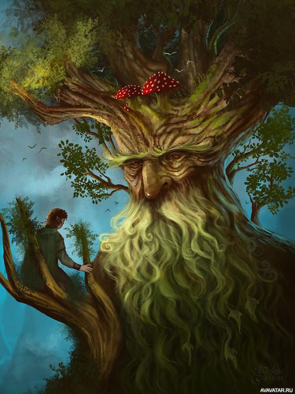 картинки деревьев из властелина колец дочку поздравляю, праздник