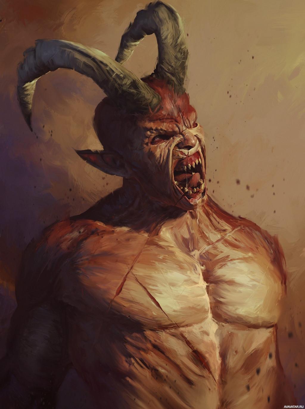 Прикольный картинки дьявола