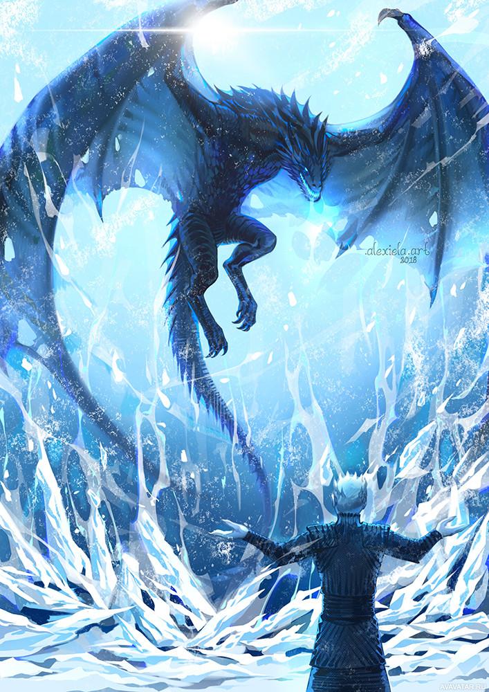 Картинки из ледяного дракона