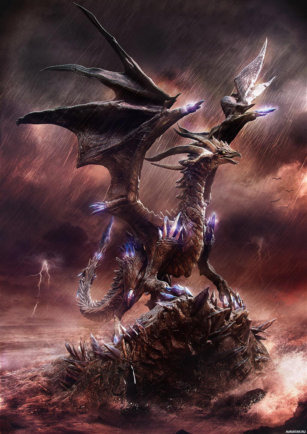 Драконы аватары картинки