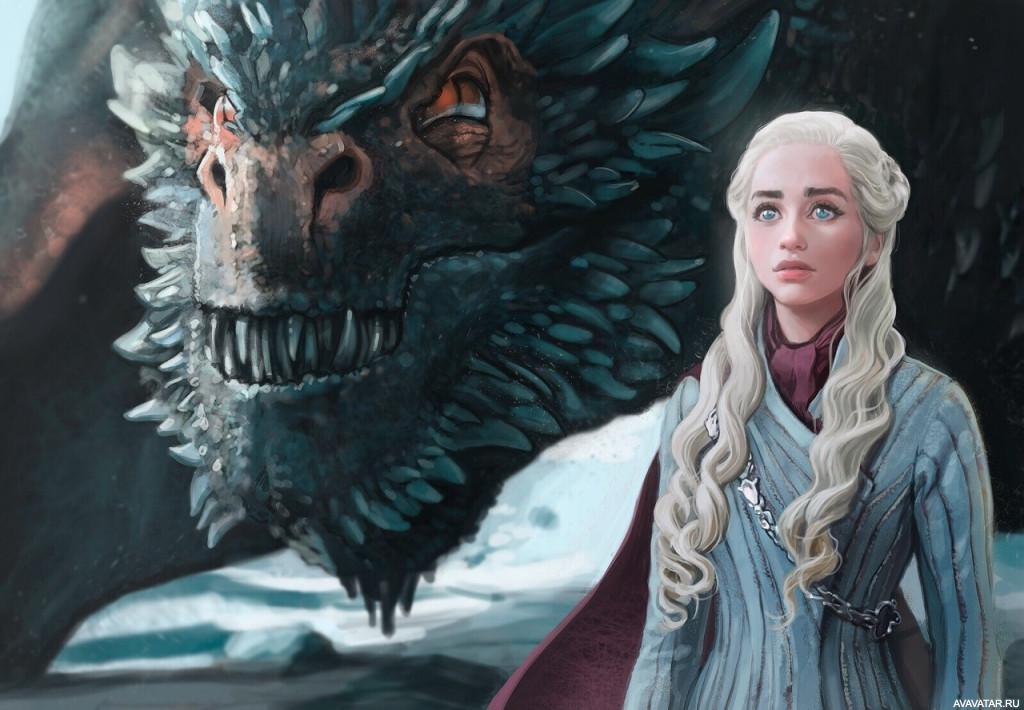 картинки на аву драконов из игры престолов избавить мужчин мук