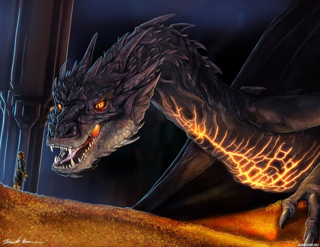 Картинки драконов смауга