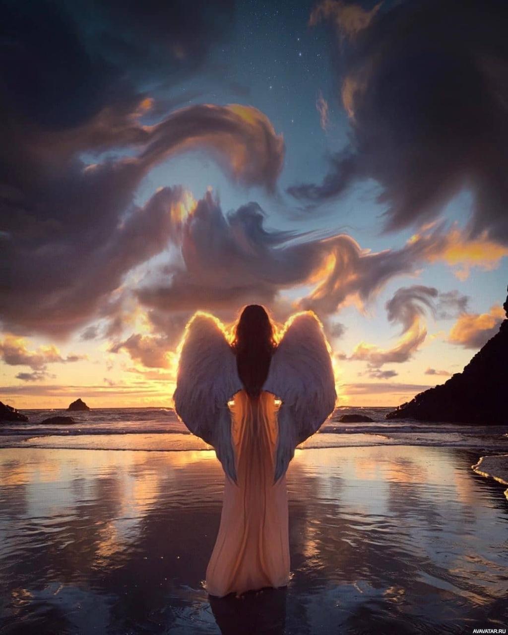 картинки для аватар ангел всеми удобствами после
