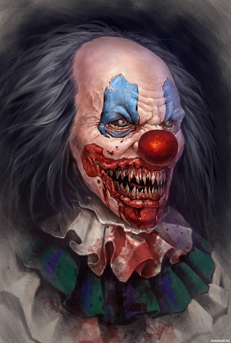 Клоуны ужас картинки