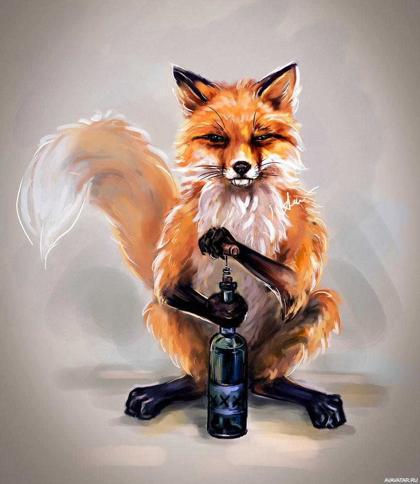Будь, картинки лисы прикольные на аву