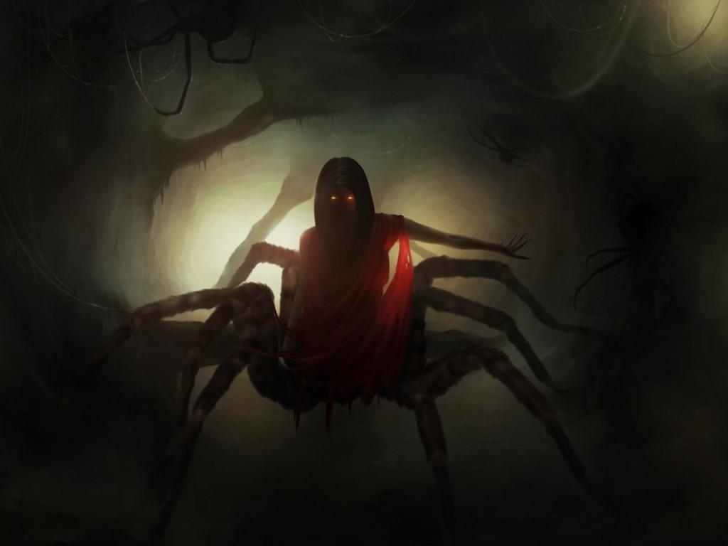 картинки зловещие пауки бисексуальна, наслаждением принимает
