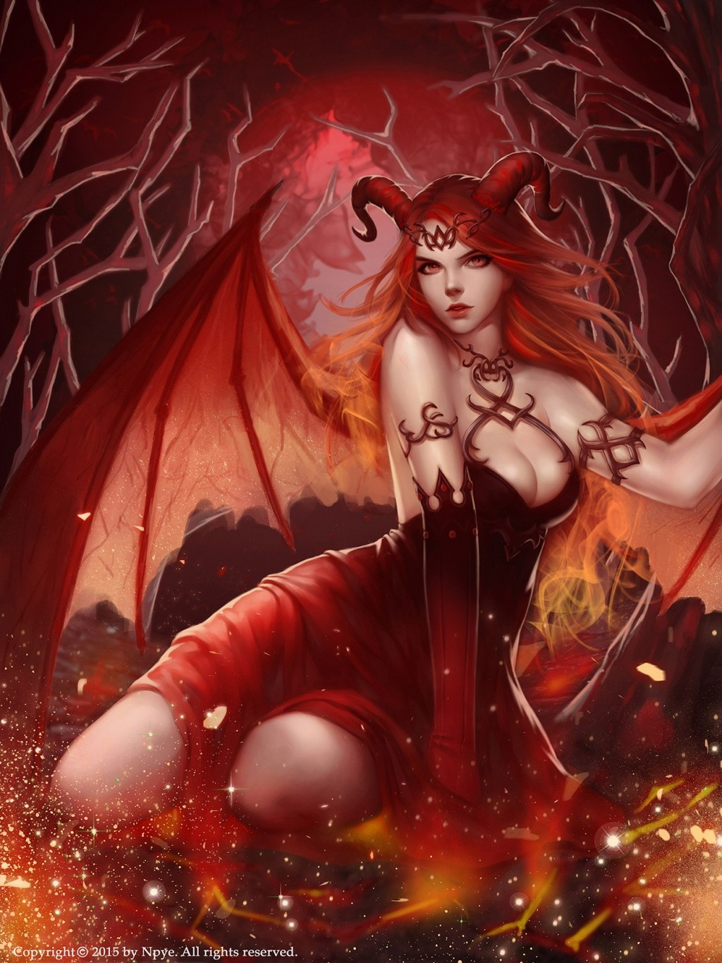 Winged succubus erotic fantasy fucks gallery