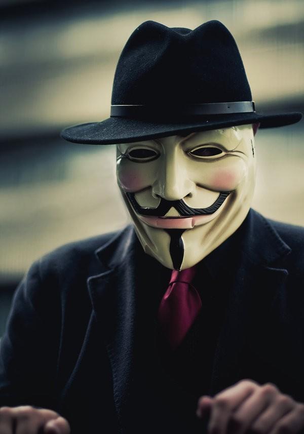 Картинки люди в маске гай фокса