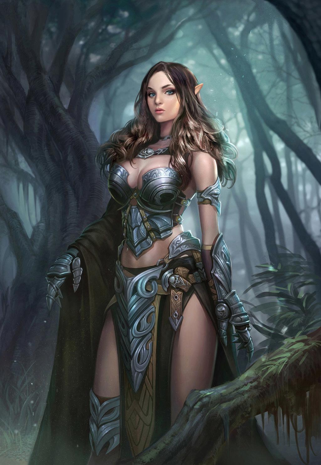 Картинки эльфы женщины