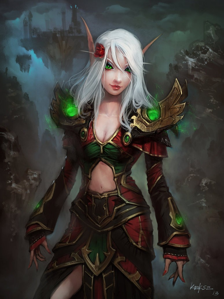 WoW blood elf mage quest sexy gallery