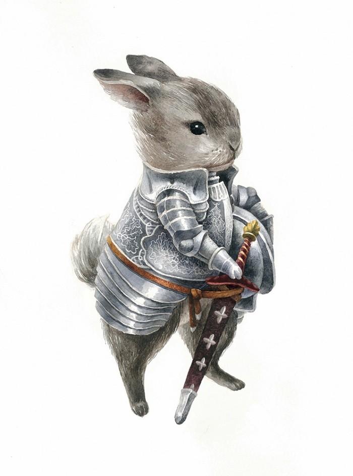 хищении картинки с боевыми зайцами тебе желаю