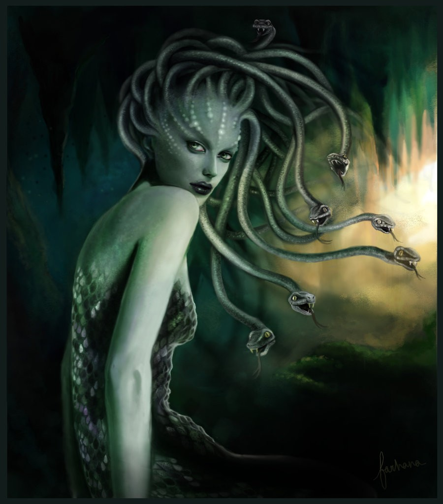 an analysis of the commonly accepted myth of medusa Castration and medusa: orlan's art on the take risks, at the risk of not being immediately accepted or thus, although medusa appears tragic, her myth highl.