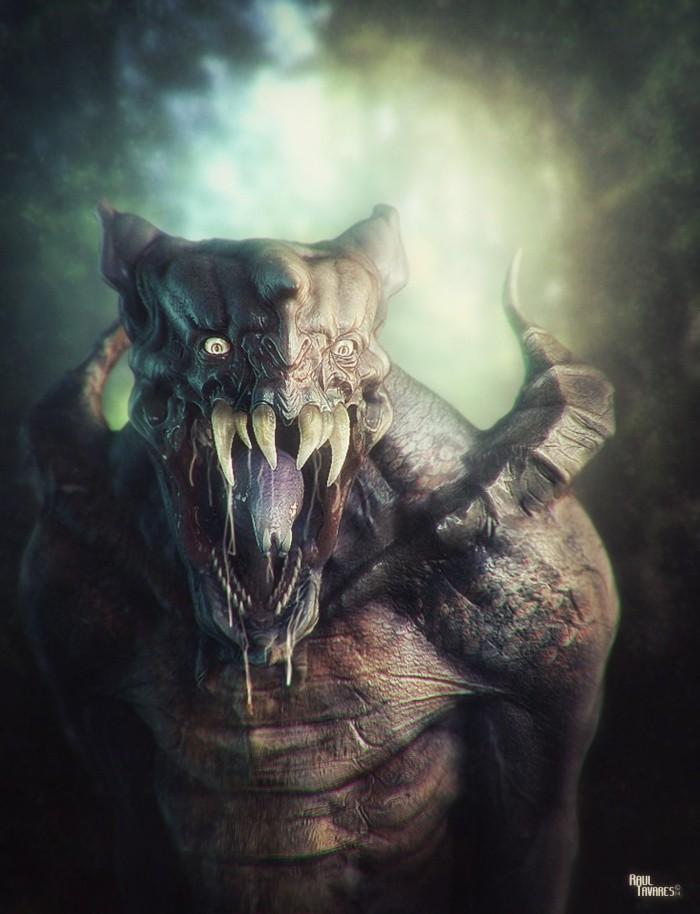картинки чудовищ на аву миф