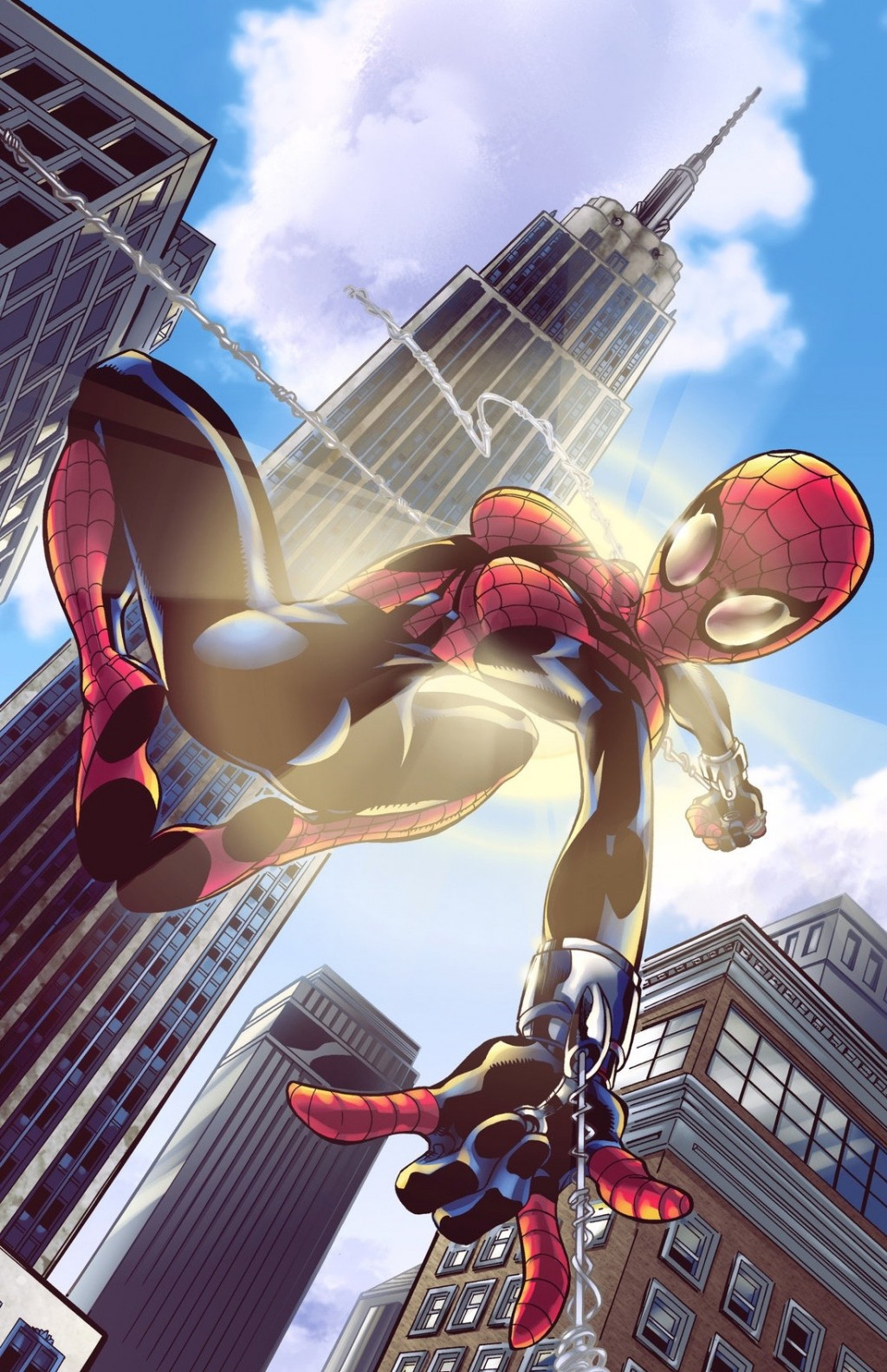 Человек-паук. Большая картинка 1024x1583px