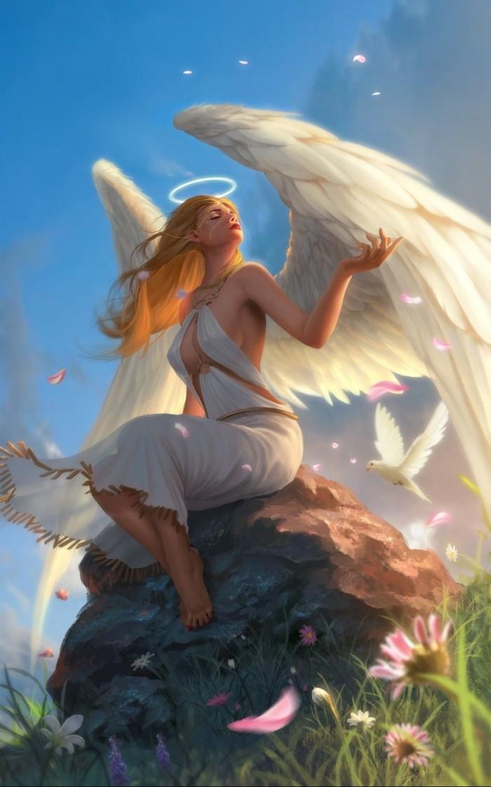 пасха ангел картинки фантазия красивый всего сердца рождением