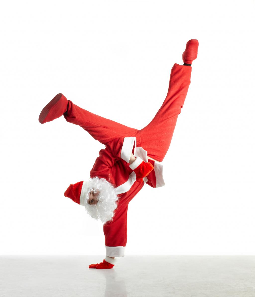 Добрым, танцевальные открытки с новым годом