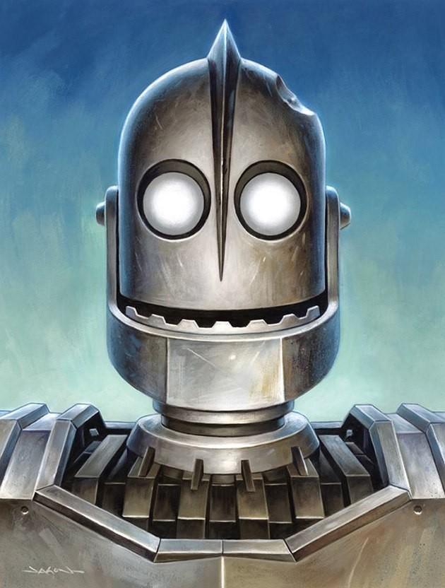Картинки железные роботы