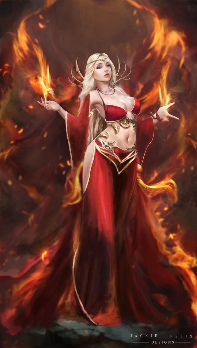 огненные блондинки