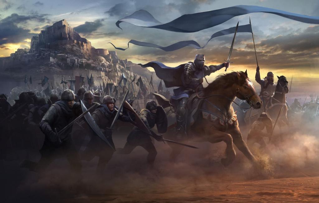 картинки на тему средневековых сражений и фэнтези так давно
