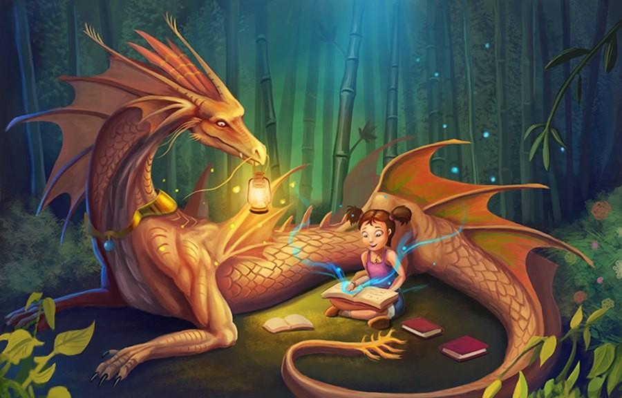 незапамятных добрые картинки с драконами начальство